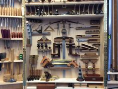 Woodworking Hand Tool cabinet and storage, mostly Bridge City Tool Works & Lie Nielson; Tool Chest; Tool Storage; tool box