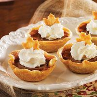 Pumpkin Tarts (Teresa thanksgiving office dinner)