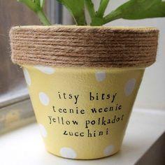 Plant puns 'n' pots by PlantPuns on Etsy