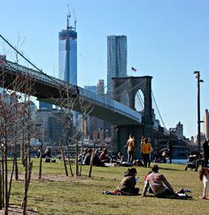 Beginning of spring #Brooklyn #1WTC #BrooklynBridge #nyc #spring #fun