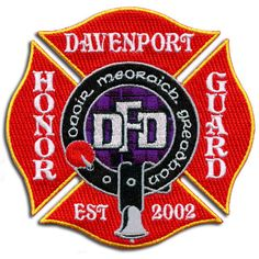 Davenport Honor Guard Patch