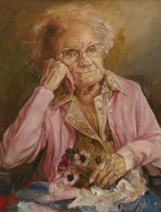 Image of: Photography Old Person Female Portrait Older Women Oil On Canvas Wearing Glasses Still Life Bbc Nursing Reflection Pinterest 80 Best Paintings Of Elderly Images In 2019 Faces Figurative Art