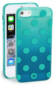 kate spade new york 'ombré dot' iPhone 5 & 5s case available at #Nordstrom