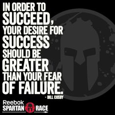 Spartan Race - in order to succeed