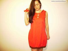 Κόκκινο φόρεμα Short Sleeve Dresses, Dresses With Sleeves, Internet, Summer Dresses, Fashion, Moda, Sleeve Dresses, Summer Sundresses, Fashion Styles