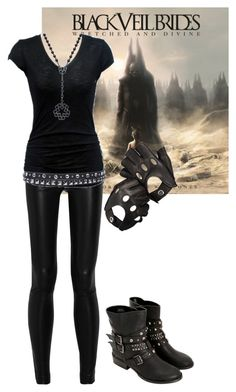 Designer Clothes, Shoes & Bags for Women Band Outfits, Rock Outfits, Gothic Outfits, Cute Emo Outfits, Casual Outfits, Fashion Outfits, Womens Fashion, Fashion Boots, Estilo Rock