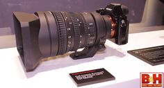 new 28-135mm f/4.0 FE Powerzoom lens on the new Sony Alpha A7s.