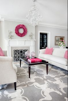 Glam Decor Living Room