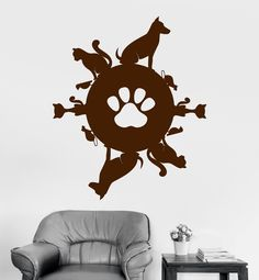 Vinyl Wall Decal Pet Planet Animal Shop Cat Dog Stickers Mural MvsM / Nickelodeon HD by ManvsMachine Flying Bird with Lines Coffee Mug Available on more products! Window Stickers, Vinyl Wall Stickers, Pet Shop, Diamond Graphic, Wall Drawing, Mundo Animal, Little Pets, Animal Quotes, Cute Art