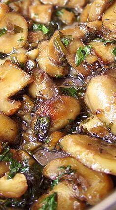 Roasted Garlic & Herb Mushroom Medley