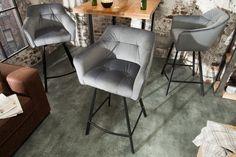 Barová stolička LOFT GREY Sofa Design, Loft, Structure Metal, Interior Decorating, Interior Design, Sofa Chair, Interior Architecture, Living Room Decor, Dining Chairs