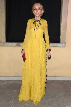 Franca Sozzani, rédactrice en chef de Vogue Italie