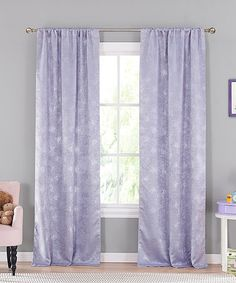 Another great find on #zulily! Lavender Clarice Blackout Curtain Panel - Set of Two #zulilyfinds