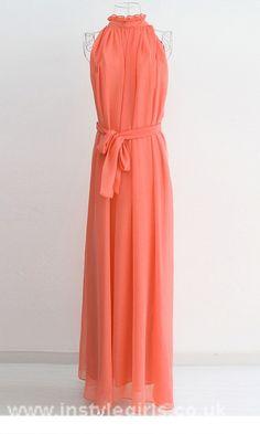 Party Summer Chiffon Maxi Long Evening Dress