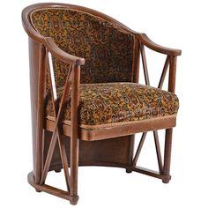 Extremely Rare Armchair by Josef Hoffmann for Kohn | 1stdibs.com