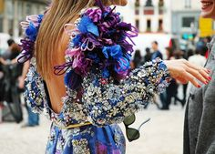 (Source: idreamofaworldofcouture)    #anna dello russo #fashion #street style #tommy ton