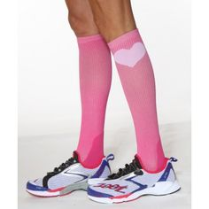 Best compression socks! Great for running, box jumps & double under lashes :-)