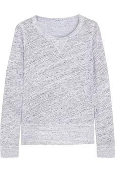 << splendidcotton-terry sweatshirt >>