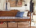 Shop bench from Pottery Barn. Our furniture, home decor and accessories collections feature bench in quality materials and classic styles. Entryway Organization, Entryway Decor, Entryway Storage, Entryway Furniture, Organization Ideas, Entryway Tables, Entry Bench, Bench Cushions, Tufted Bench