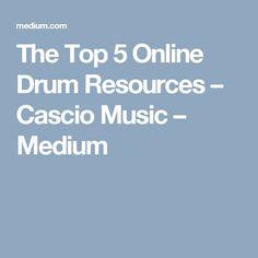 The Top 5 Online Drum Resources