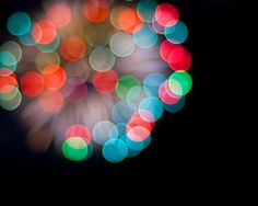 colorful blur