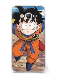 Capa Samsung Gran Prime Dragon Ball Z Gohan Pequeno