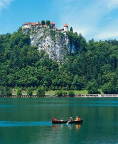 Bled Castle - Lake Bled, Slovenia-beautiful as I remember! Places Around The World, Oh The Places You'll Go, Travel Around The World, Places To Travel, Places To Visit, Around The Worlds, Beautiful World, Beautiful Places, Amazing Places