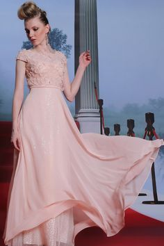 2014 Sicilian Style Off The Shoulder A Line Floor Length Chiffon Dress #30999 (Color Just As Picture Show)