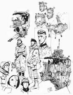 Sketchbook: Doodling.
