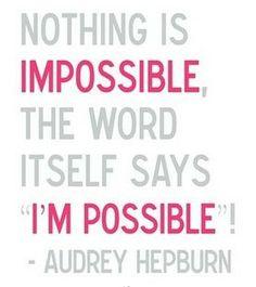 wise words from audrey hepburn