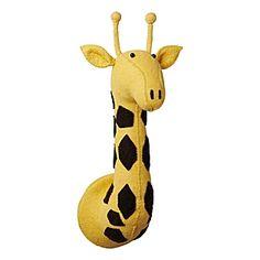 Mounted Giraffe - contemporary - kids decor - by Serena & Lily Giraffe Baby Toy, Giraffe Head, Nursery Mirror, Baby Mirror, Best Blue Paint Colors, Kids Mirrors, Nursery Inspiration, Nursery Ideas, Room Ideas