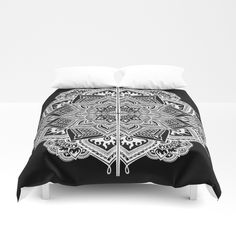 Mandala Lace Duvet Cover