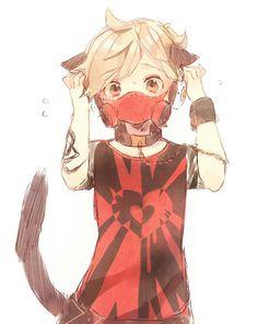 anime boy mask - Buscar con Google