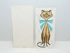 Back of Card Has Gibson Letter-ettes Insignia. Not Sure of The Year of This Card May Be or Inside of Card is Blank Inside. Handmade Greetings, Greeting Cards Handmade, Birthday Greeting Cards, Birthday Greetings, Peter Rabbit Gifts, Name Cards, Craft Party, Hang Tags, Paper Gifts