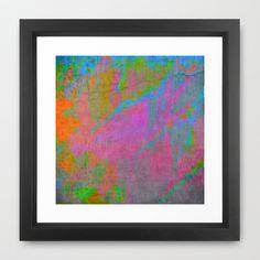 Multi G Framed Art Print by Awesome Palette - $35.00