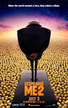 Despicable Me 2, new Poster