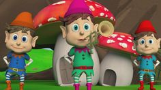 My Jestesmy Krasnoludki, hop sa sa, hop sa sa - Piosenki Dla Dzieci .tv