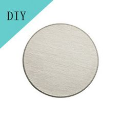 Hot!! 22mm Stainless Steel Round Plate Pendant for 30MM Floating Locket Customize Your Own Logo DIY Jewelry Min Order 50pcs