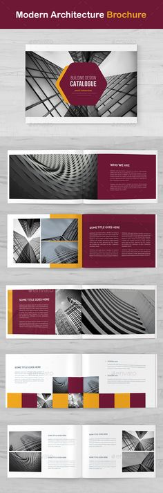 Corporate Bifold Brochure Template Indesign Indd  Brochure