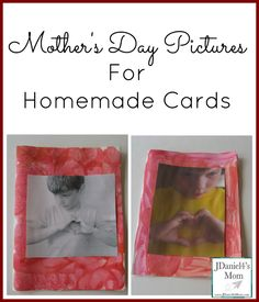 Mother's Day pictures taken to highlight a special moment or concept are perfect additions to Mother's Day cards. Our pictures display a heart symbol. Preschool Education, Preschool Activities, Fun Crafts For Kids, Gifts For Kids, Religion Activities, Mother's Day Projects, Mothers Day Pictures, Dad Day, Mothers Day Crafts