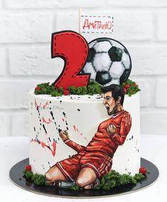 Birthday Cake Roses, Bithday Cake, Birthday Cakes For Men, Cakes For Boys, Buttercream Cake Designs, Fondant Cake Designs, Fondant Cakes, Cupcake Cakes, 1st Birthday Foods
