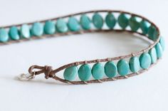 DIY wrap bracelet. LOVE