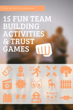 15 fun team building activities and trust games for the classroom - BookWidgets Trust Building Activities, Team Building Games, Team Building Exercises, Leadership Activities, Counseling Activities, Physical Education Games, Health Education, Fun Classroom Activities