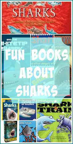 Do your children love sharks? Check out these fun books and kits about sharks!