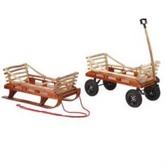 Mountain Boy Butterfly Convertible Wagon/Sled