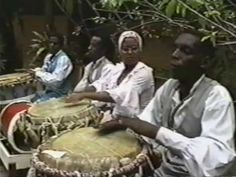 """La Tumba Francesa is a traditional cultural dance and style of that emerged in the century in Oriente, Cuba. It combines music from West Africa and traditional French music. """"Tumba"""" derives from """"tambours"""", which is French for drums. Cultural Dance, Cuba Travel, West Africa, Dance Music, Dancers, 18th Century, Drums, Roots, Culture"""