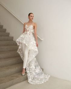 A look from Francesca Miranda's Spring 2019 bridal collection. Photo: Tawfick Photography