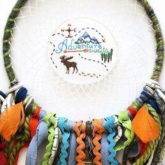 Adventure awaits embroidery