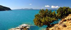 La Buca delle Fate e l'Isola d'Elba all'orizzonte