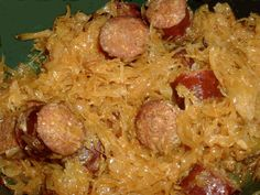 Make and share this Crock Pot Kielbasa & Sauerkraut recipe from Genius Kitchen. Crock Pot Recipes, Crockpot Dishes, Crock Pot Slow Cooker, Crock Pot Cooking, Cooking Recipes, Crockpot Meals, Pork Recipes, Dump Recipes, Vegan Recipes